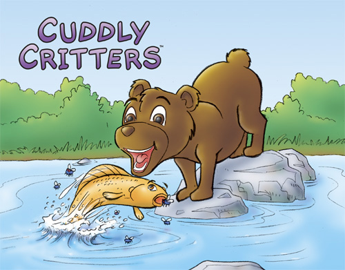 Cuddly Critters (tm): Buster Bear 02_lg